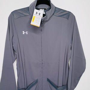New Under Armour Full-Zip All Seasons Run Sweater